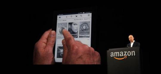 Amazon agrandit son Kindle Fire pour mieux concurrencer l'iPad