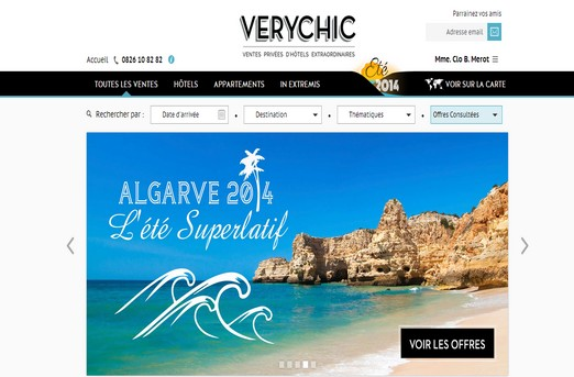 Very chic propose des h tels de luxe prix r duits tom for Hotels a prix reduits