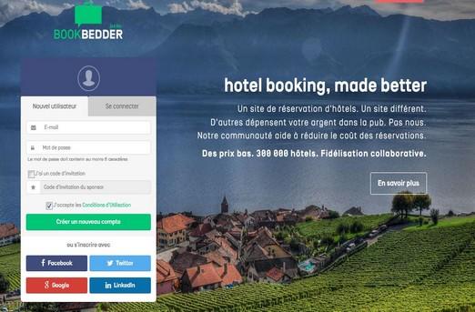 Bookbedder une alternative aux ota pour les h teliers for Plateforme reservation hotel