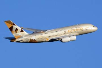 Avion d'Etihad Airways