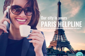 flyer Paris Helpline