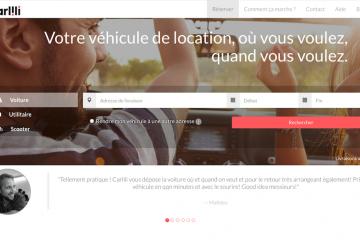 Carlili_page d'accueil