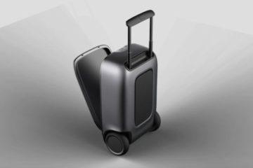 90Fun présente Puppy 1, la valise connectée qui suit le voyageur partout