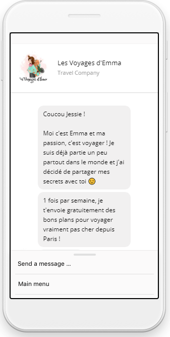 Les Voyages D Emma Le Chatbot Qui Deniche Les Bons Plans Voyage Tom