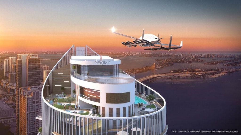 La-tour-Paramount-Miami-Worldcenter-prepare-l-arrivee-des-vehicules-volants