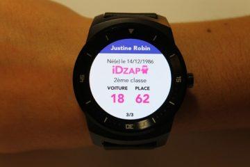 IDTGV lance son application pour montres connectées