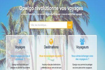 Opwigo : un réseau social destiné aux voyageurs