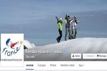 Réseaux sociaux : la destination France suivie par 2,5 millions de fans