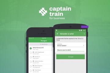 Lancement de Captain Train for Business