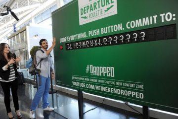 Heineken vous offre un voyage comme au casino
