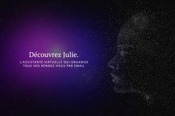 Julie Desk, l'intelligence artificielle qui gère la prise de rendez-vous par mail