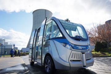 NAVYA exporte sa navette électrique autonome au Québec