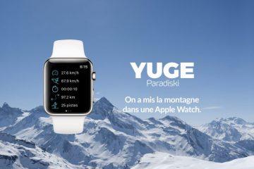 L'application YUGE Paradiski désormais disponible sur l'Apple Watch
