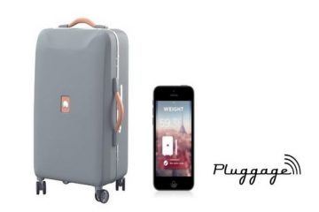 Delsey lance Pluggage, sa valise connectée