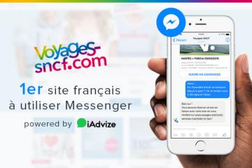 Voyages-SNCF intègre Messenger dans sa relation client