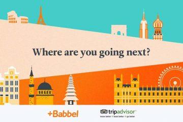 Babbel et TripAdvisor s'associent pour aider les voyageurs à préparer leur séjour
