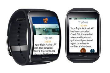 Sabre lance son application TripCase sur montres connectées